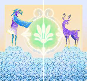 Mosaic for Idearum, Peace