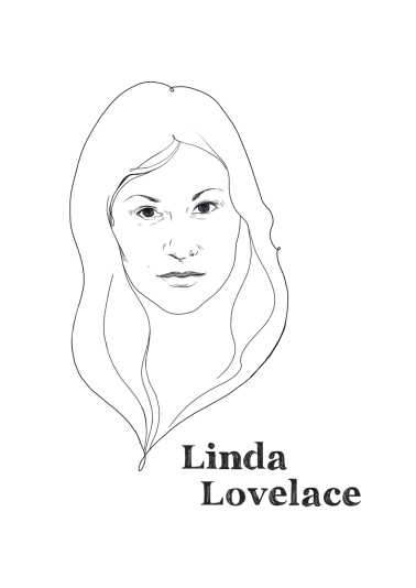 Linda Lovelace, porn actress and later anti-pornography activist.
