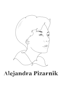 Alejandra Pizarnik, Argentine poet.