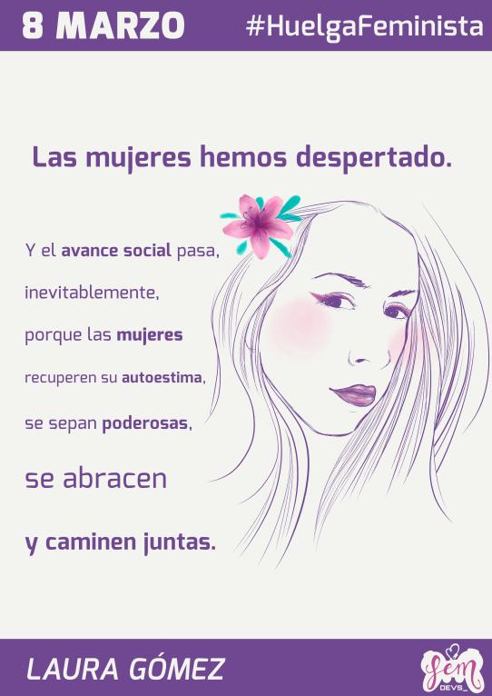Laura Gómez for FemDevs.