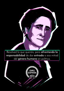 Clara Campoamor, for GWU.